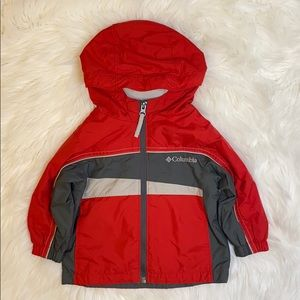 Columbia toddler windbreaker - size 18 months